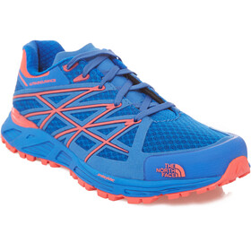 The North Face W's Ultra Endurance Shoes Blue Quartz/Rocket Red